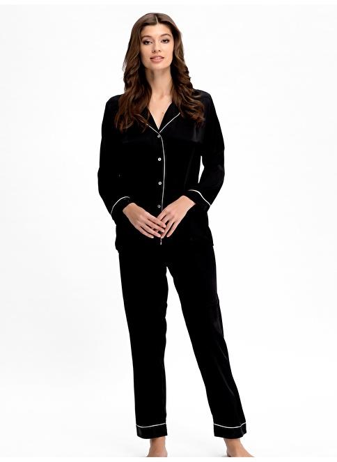 Ayyıldız Pijama Takım Siyah